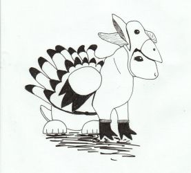 Turkey Bunny by Tanager