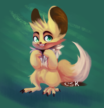 Eevee Fur by CrazySpartanKitten