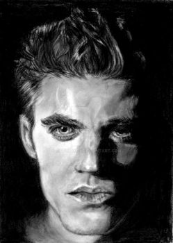 Vampire Diaries Stefan 3 by Catluckey