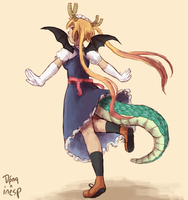Collab/Gift Art: Tohru by inesp22