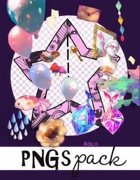 Pack de PNGs by Aoli1