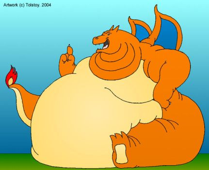 Fat Charizard pic by Tolstoy