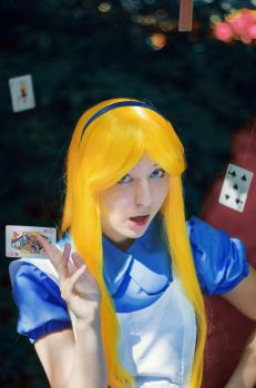 Alice in Wonderland by Gennadia