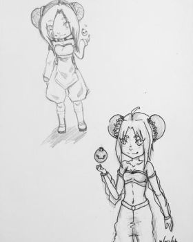 Before and after OC Reba  by SolbiiMelody