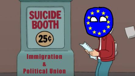 Accidental Suicide of the European Union by HNBBTF