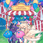 Konpeito Cotton Candy Booth by Kris-Goat