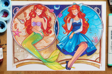 +Little Mermaid - What They Dream Of+ by larienne