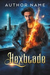 Hexblade - premade book cover by LHarper