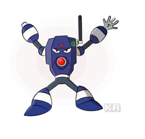 Device man (customized robot master) by Kalsuruby