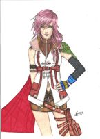 Lightning Farron by ClaireRoses