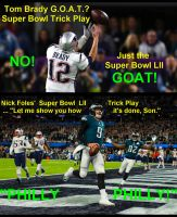 Tom Brady G.O.A.T. or GOAT? by TADASHI-STATION