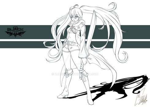 Black Rock shooter by Zjacklee