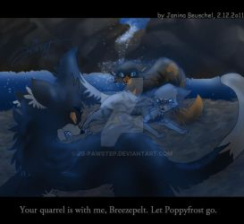 Moonpool-Fight by JB-Pawstep