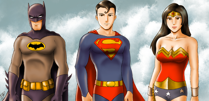 DC Trinity by XenonVincentLegend