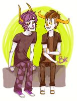 peanut butter and jelly by Hyperactive-Kitteh