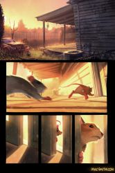 Scurry Page 1 (no text yet) by BMacSmith