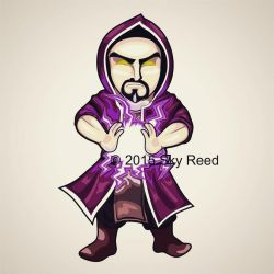 Clash of Clans - Wizard Chibi by sky00reed