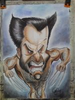 Wolverine Caricature. by TheCartoonLoon