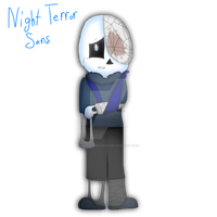 Night Terror Sans (Full Body) by cjc728