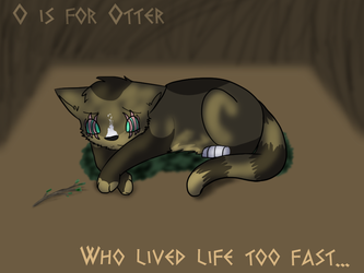 O is for Otter.. by Spiritpie