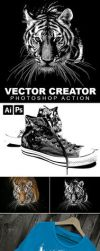 Vector Generator Photoshop Action by teewinkle