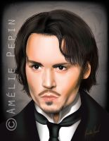 Johnny Depp vector by TheTruthLiesWithin