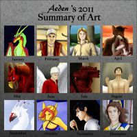 2011 Art Summary by AedenSolus