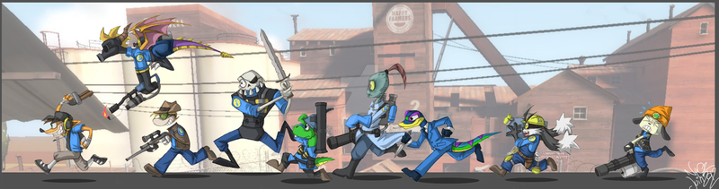 PSX Fortress 2 by 123soleil