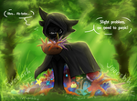Prompt #5 Packrat (EVOLOONS) by CoffeeAddictedDragon