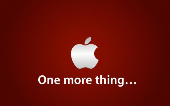 Apple Wall 'One more thing...' by TheDevartist