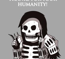 Thanks for your humanity! by JoTheWeirdo