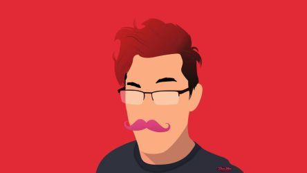 Markiplier Portrait by IbalaKhan