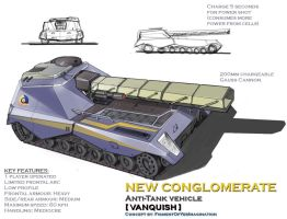 New Conglomerate Vanquish AT vehicle by hansime