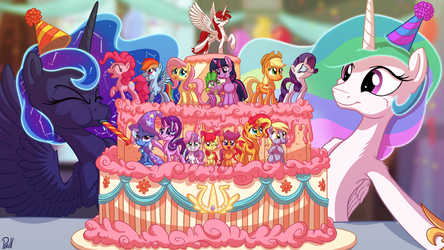Seven Years of Friendship, Magic, and Ponies by Pirill-Poveniy
