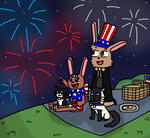 Watching the Fireworks by Mighty355