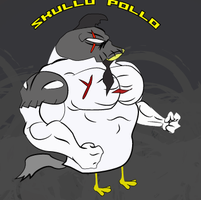 Skullo Pollo Character select concept by GhengisKong