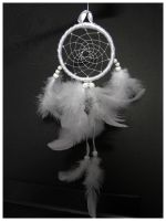 Pure White One - Dreamcatcher by SaQe