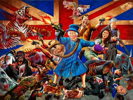 The Royal Family vs The Other Dead by LOGANNINEFINGERS