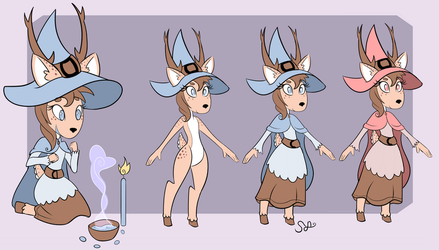 oh dear which deer is a witch deer by Synchro-Centaur