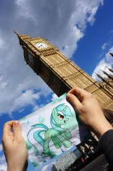 Lyra at Big Ben, London by Cabraloca