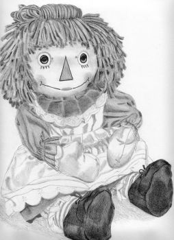 Raggedy Ann-partial by pcoe