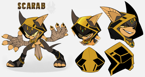 .::Scarab - Ref::. by SpookyTrap