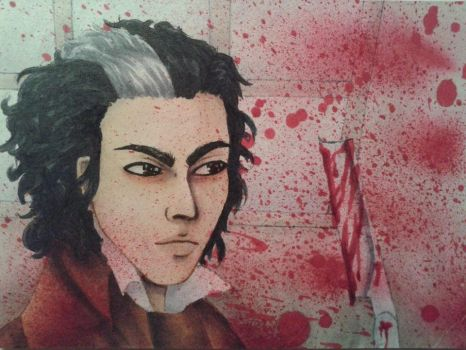 Sweeney Todd ACEO/ATC by Misax3Misa