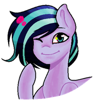 Melody|MS Paint attempt [NO WATERMARK/TRANSPARENT] by acakewithsugar