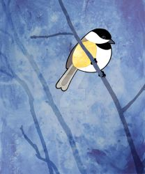 Chickadee by Majnouna