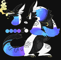 night dreamer dragon adoptable (closed) by GOD-LIKES-ME