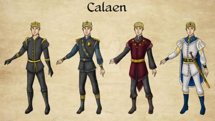 Calaen Outfits by Captain-Savvy