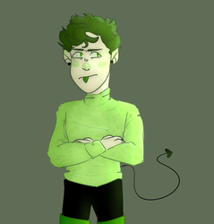 this guy and he looks gross by DoodlyDoodlerDoo