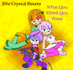 The Crystal Sisters Album Cover by 6SeaCat9