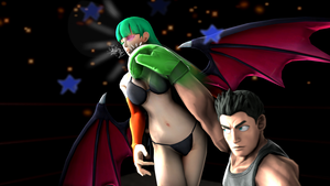 Morrigan gets Punch'd by anotherpunisher